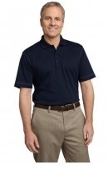 Port Authority Contrast Stitch Silk Touch Interlock Polo