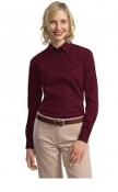 Port Authority Ladies Tonal Pattern Easy Care Shirt L613