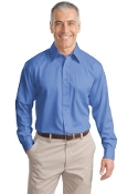 Port Authority Long Sleeve Non-Iron Twill Shirt S638