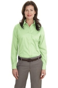 Port Authority Ladies Long Sleeve Non-Iron Twill Shirt L638