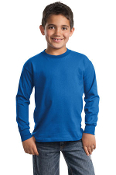 Port - Company Youth Long Sleeve Essential T-Shirt