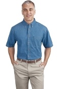 Port - Company Short Sleeve Value Denim Shirt