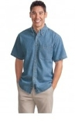 Port Authority Short Sleeve Denim Shirt