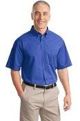 Port Authority Short Sleeve Value Cotton Twill Shirt