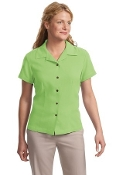 Port Authority Signature Ladies Silk Blend Camp Shirt