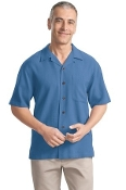 Port Authority Signature Silk Blend Camp Shirt