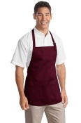 Port Authority Medium Length Apron  Pouch Pockets