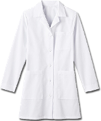Meta Ladies 35 inch Labcoat  6150