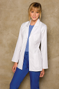 Dickies Medical Uniforms women's Princess Seam Lab Coat 84405