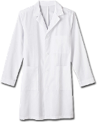 Meta Mens 38 inch Cotton Labcoat