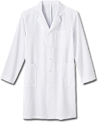 Meta Men's 40 inch Labcoat