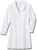 Meta Ladies 38 inch Cotton Labcoat