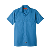 LS504 PREMIUM INDUSTRIAL SHORT SLEEVE SHIRT WITH FLAPS