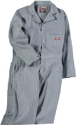 4897 COTTON COVERALL - FISHER STRIPE