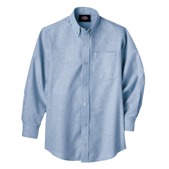 KL920 BOY'S OXFORD SHIRT - LONG SLEEVE