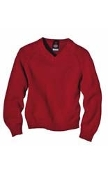 KW951 KID'S V-NECK PULLOVER SWEATER