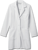 "Meta Pro Ladies 35"" Tri-Blend Stretch Labcoat"