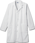 "Meta Men's 40"" Knot Button iPad® Labcoat"