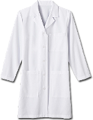 "Meta Fundamentals Ladies 37"" Labcoat"