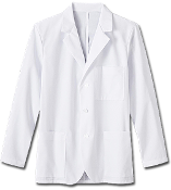 "Meta Fundamentals Men's 30"" Consultation Labcoat"