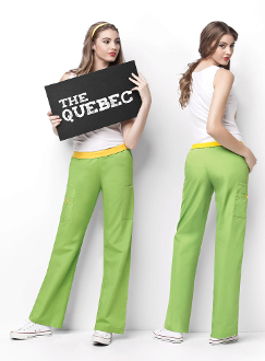 THE QUEBEC - FULL ELASTIC PULL-ON PANT